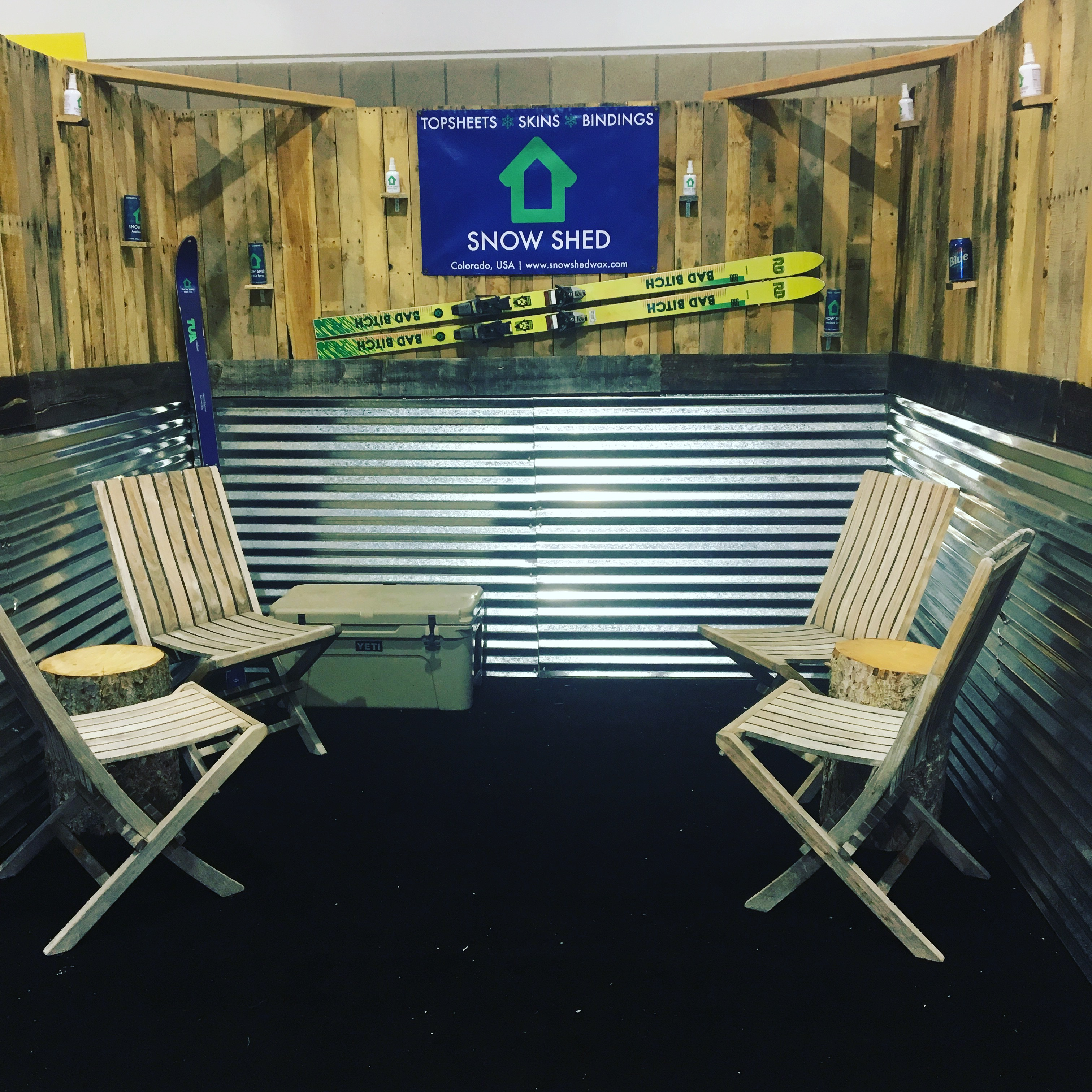 Wood Trade Show Booth : 10x10 handcrafted wooden tradeshow booth usedbooths